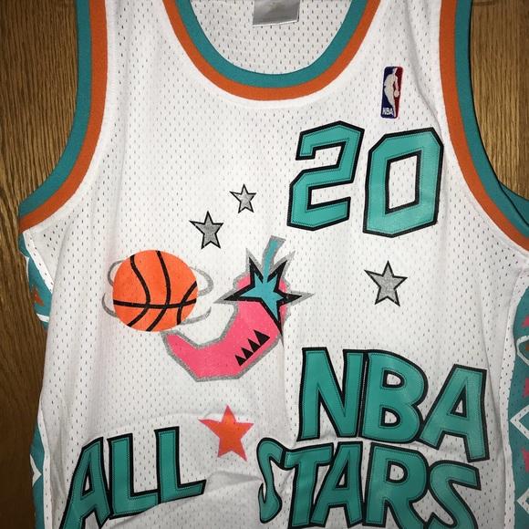 promo code 5dad5 281e5 Gary Payton All Star Jersey - Hardwood Classic